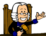 Dibujo Juez pintado por karla_