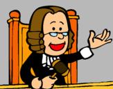 Dibujo Juez pintado por vbhfgbgfhvgb
