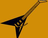 Dibujo Guitarra eléctrica II pintado por lemus