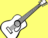Dibujo Guitarra española II pintado por agen86_pna