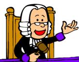 Dibujo Juez pintado por aifredo