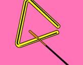 Dibujo Triángulo pintado por santibonbom