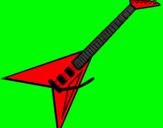 Dibujo Guitarra eléctrica II pintado por raul1