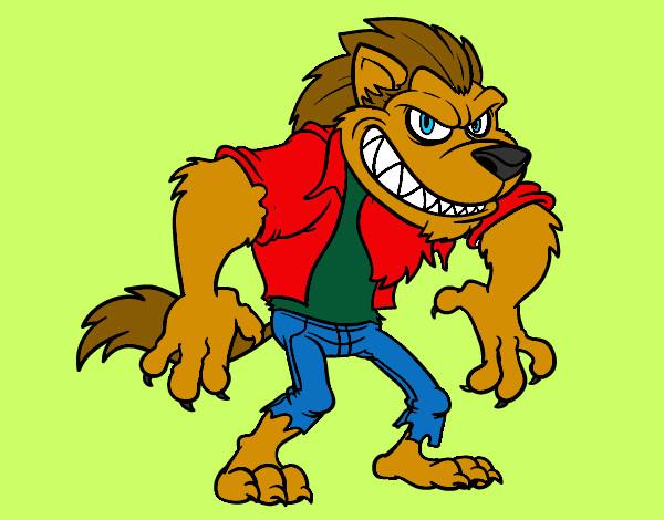 Dibujos de Hombres Lobo Para