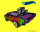 Dibujo Hot Wheels 11 pintado por tuna