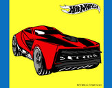 Dibujo Hot Wheels 12 pintado por tuna