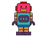 Dibujo Robot alto pintado por sofiisi
