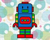 Dibujo Robot alto pintado por nicolasm