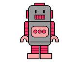 Dibujo Robot alto pintado por Renula