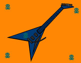 Dibujo Guitarra eléctrica II pintado por INVITADO