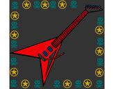 Dibujo Guitarra eléctrica II pintado por triix