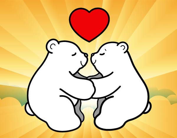 Dibujos Oso Polar. Awesome Ilustracin Realista De Un Oso Polar ...
