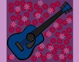 Dibujo Guitarra española II pintado por lucialol