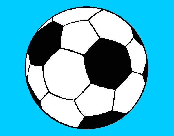 Dibujos de Pelotas de fútbol para Colorear - Dibujos.net