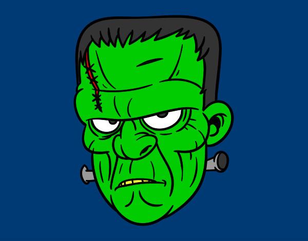 Dibujos de Frankenstein para Colorear - Dibujos.net