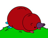 Dibujo Topo tumbado pintado por eilee