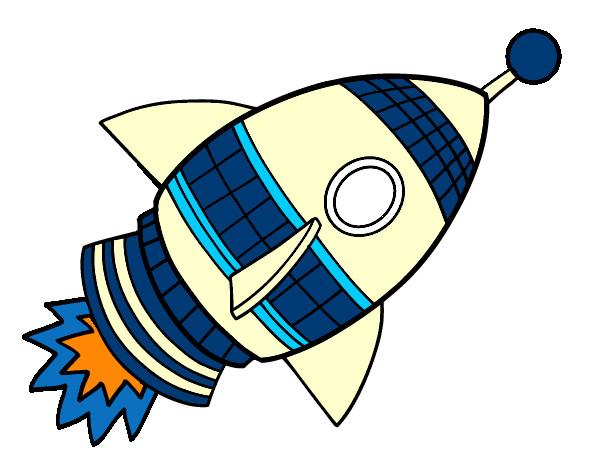 Cohete De Astronauta Y Vintage De Dibujos Animados: Álbum De Dibujos De Lisandrote