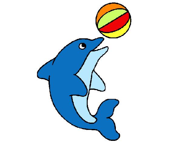 Dibujos de Delfines para Colorear - Dibujos.net