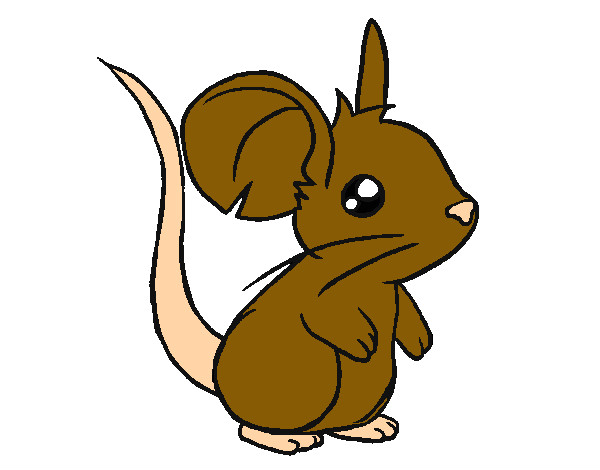 Dibujos de Ratones para Colorear - Dibujos.net