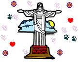 Dibujo Cristo Redentor pintado por Milu_01