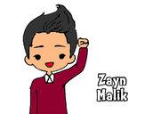 Dibujo Zayn Malik pintado por Ingrid1D
