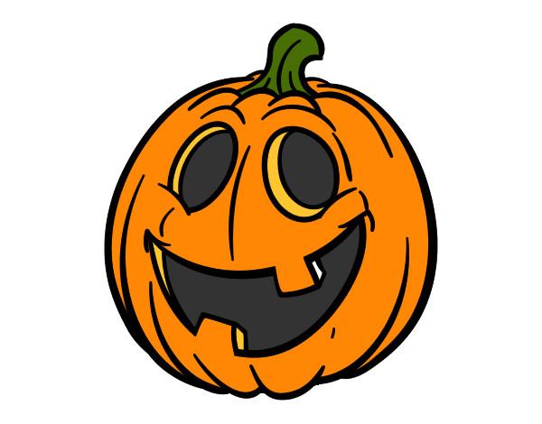 Dibujos de Calabazas de Halloween para Colorear - Dibujos.net