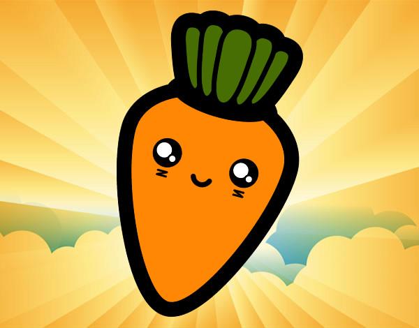 Dibujos de Zanahorias para Colorear - Dibujos.net