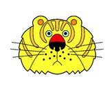 Dibujo Tigre III pintado por david20125