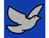 Dibujo Paloma de la paz pintado por mariam24