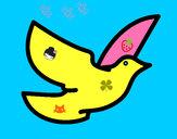 Dibujo Paloma de la paz pintado por Anto05