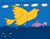 Dibujo Día Internacional de la Paz pintado por magdal