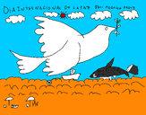 Dibujo Día Internacional de la Paz pintado por martina50