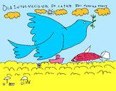 Dibujo Día Internacional de la Paz pintado por annieruss