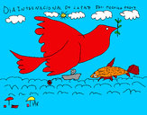 Dibujo Día Internacional de la Paz pintado por inbisimal