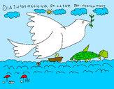 Dibujo Día Internacional de la Paz pintado por imelda123