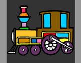 Dibujo Tren 2 pintado por ismail10