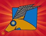 Dibujo Signo de Capricornio pintado por DJgohan