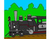 Dibujo Locomotora pintado por francisco3
