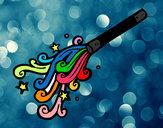 Dibujo Varita de mago pintado por Chuleti