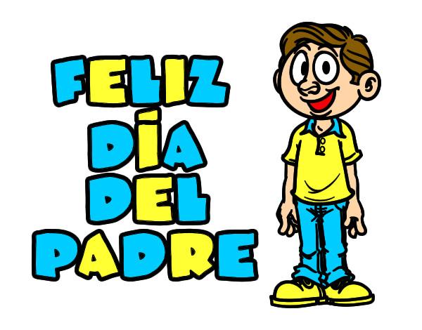 Dibujos Del Dia Del Padre Coloreados: Dibujos Del Dia Del Padre Pintados