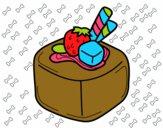 Bombón de fruta