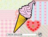 Dibujo Cono helado pintado por Valerita3