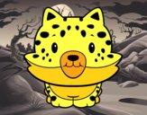 Cría de guepardo
