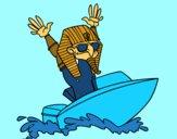 Egipcio navegante