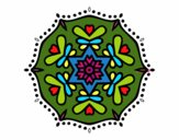 Mandala simétrica