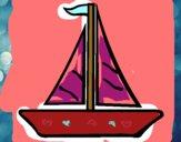 Dibujo Barco velero 1 pintado por Alin123
