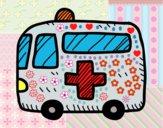 Ambulancia cruz roja
