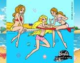 Barbie y sus amigas