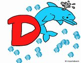 Dibujo Delfín 1 pintado por david20125