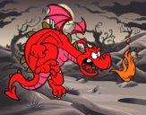 Dragón malvado